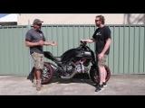 Insane! Turbo Ducati Diavel, Double Torque, 250hp! Burnout Time!