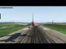 Посадка Airbus A320neo в Кневичах