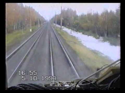 Рекордные испытания ТЭП80-0002 05.10.1993.TEP80 world speed record 271 km/h
