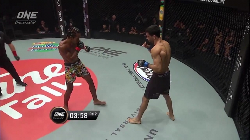 Muhammad Aiman defeats Eduardo Novaes via KO/TKO at 2:50 of Round 2