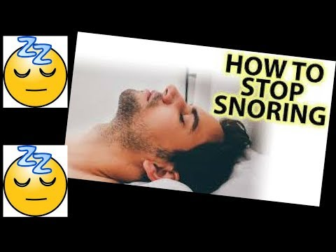 How to stop snoring permanently -How to stop snoring fast and get rid of sleep apnea fast