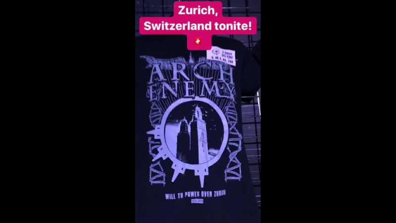 Instagram Stories - 15.1.2018 Zürich