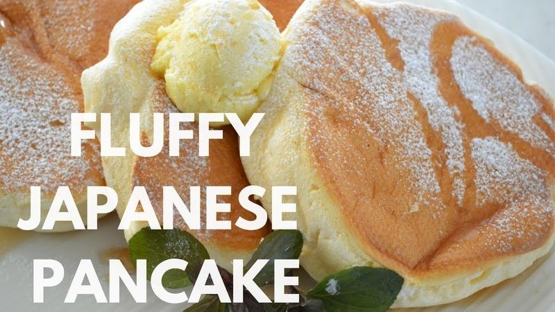 How to make ★Fluffy Japanese Pancake★スフレパンケーキの作り方 EP39