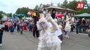 Фестиваль уличных театров мимы, клоуны и весёлые белки покорили Череповец
