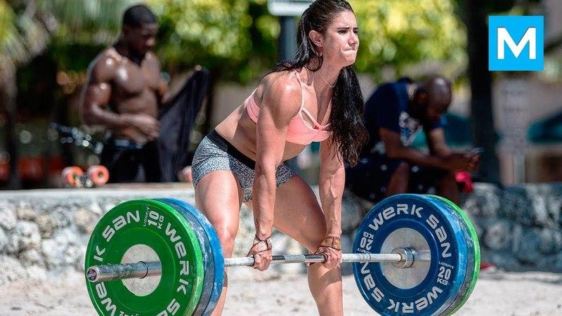 Stefanie Cohen - сильнейшая женщина в мире.