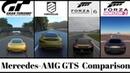 GT Sport VS Driveclub VS Forza Horizon 3 VS Forza Motorsport 6 - Mercedes-AMG GTS Sound Comparison