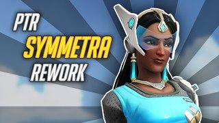 Overwatch: PTR Symmetra Rework! [No menu fumbling, no voice-over.]