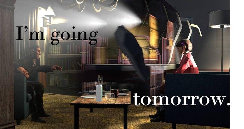 I'm Going Tomorrow - Accepted Edinburgh Mini Portfolio 2015