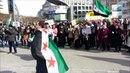 Anti Assad vs Pro Assad Demo in Frankfurt am Main - 16.03.2013