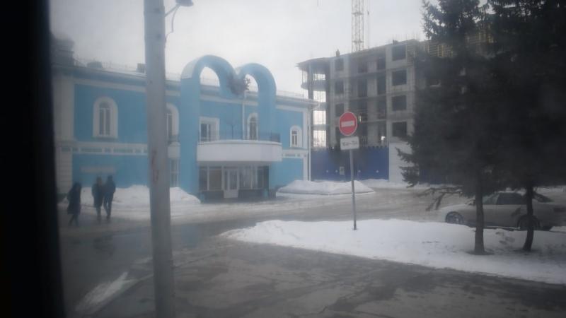 Троллейбус ЗиУ-682 КВР БТРМ-4001. Покатушки по Барнаулу-2.