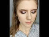 Выразительный макияж (карандашная техника)