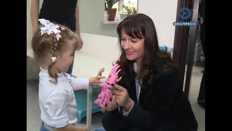 Первая девочка в Пензе, которая получила протез Киби