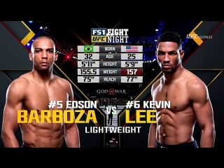 Kevin Lee vs Edson Barboza Highlights
