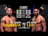 Kevin Lee vs Edson Barboza Highlights