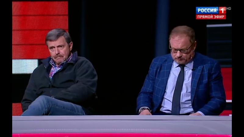 Минкульт не будет заниматься цензурой. Вечер с Владимиром Соловьёвым. Выпуск от 05.06.18.