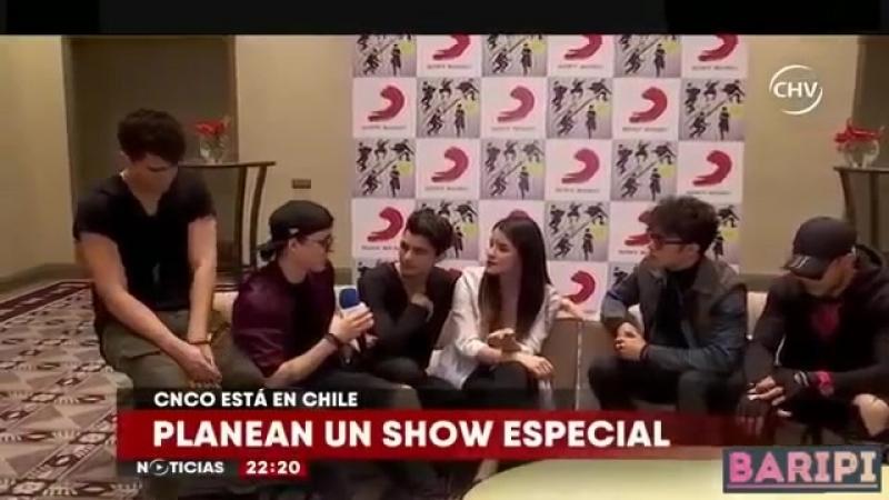 CNCO ENTREVISTA EN CHILE 2😱