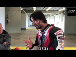 Honda RVF750R RC45 Keanu Reeves And Jake Zemke