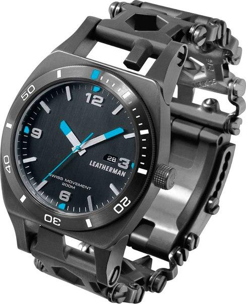 Часы-мультитул Leatherman Tread Tempo и фонарь в подарок ????
