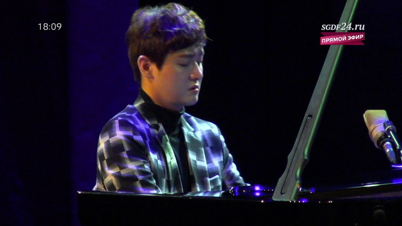 Концерт композитора и пианиста SHIN JIHO (Южная Корея). Эфир 09.04.2018