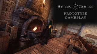Reign of Guilds - Prototype gameplay video