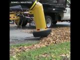 Уличный робот-пылесос