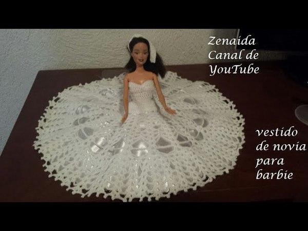 Vestido para Barbie Boda o XV años PARTE 1 DIESTROS