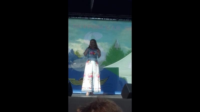 12 июля 2018г Соминская Петровская ярмарка выступает Варвара