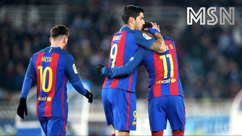 MSN - The Greatest Attacking Trio Ever - Messi Suarez Neymar - CO-OP HD