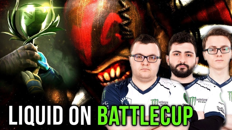 Miracle Liquid on North America Battlecup - Tactic Practice for TI8 - Dota 2