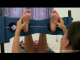 Czech Tied Toes Tickled Bare Feet - Victoria Sweet
