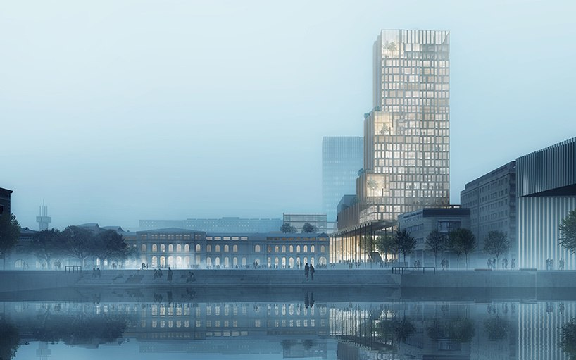 Reiulf Ramstad architects chosen to build tower as part of Oslo's fjordporten development
