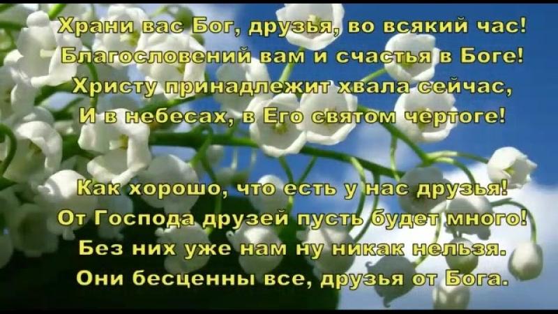 Видеоклип ДРУЗЬЯ