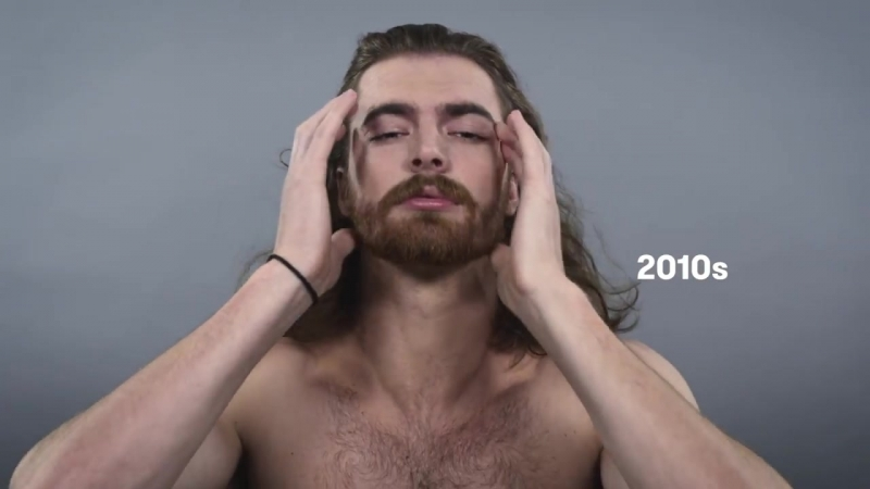 100 Years of Beauty - USA Men (1910s - 2010s)