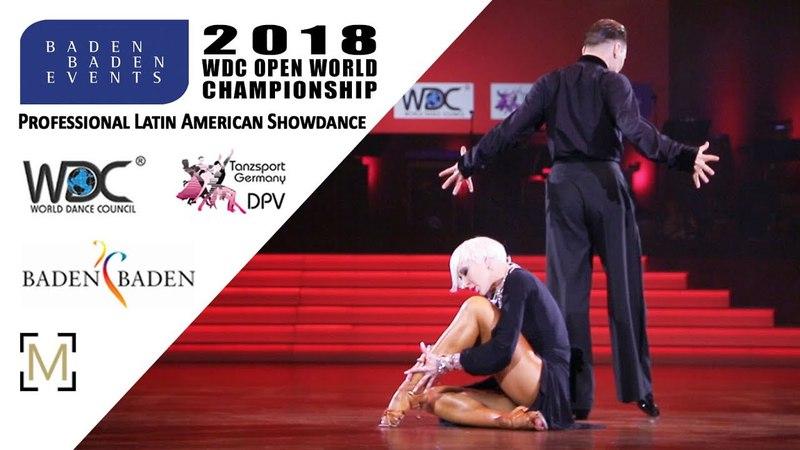 Paramonov - Paramonov, USA   2018 WDC Pro WCH SD LAT - Baden Baden, GER - Final