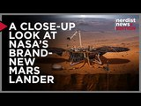 A Close Up Look at NASA's Brand New Mars Lander! (Nerdist News Edition)
