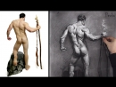 Proko Figure drawing fundamentals - 13 Shading-drawing-yoni-shading-background-elements-final-touches-premium-720p