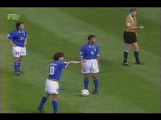 Италия 2-1 Россия / UEFA Euro 1996 / Italy vs Russia