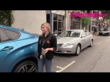 Chloe Grace Moretz Stops By Her Friends Office While Out Running Errands In West