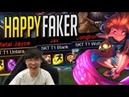 Faker gets his revenge vs SKT Faker's Stream Highlights Translated