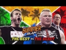 WWE Mania SummerSlam 2013 CM Punk vs Brock Lesnar No Disqualification Match