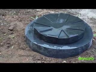 Правила установки кессона для скважины на примере кессона Термит 2050
