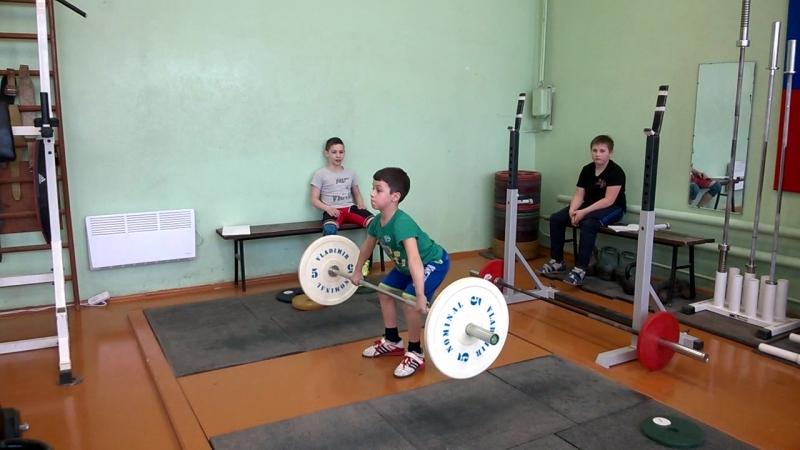 Артём Горбаченко-08 гр-рывок св.кл.-20 кг.