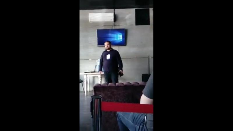Прямой эфир. Кирилл Брагин (GoodSellUs) на конференции GuruConf, часть 2