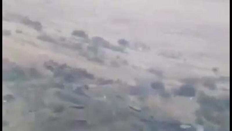 Солдаты АО Арцаха обстреливают солдат ВС Азербайджана
