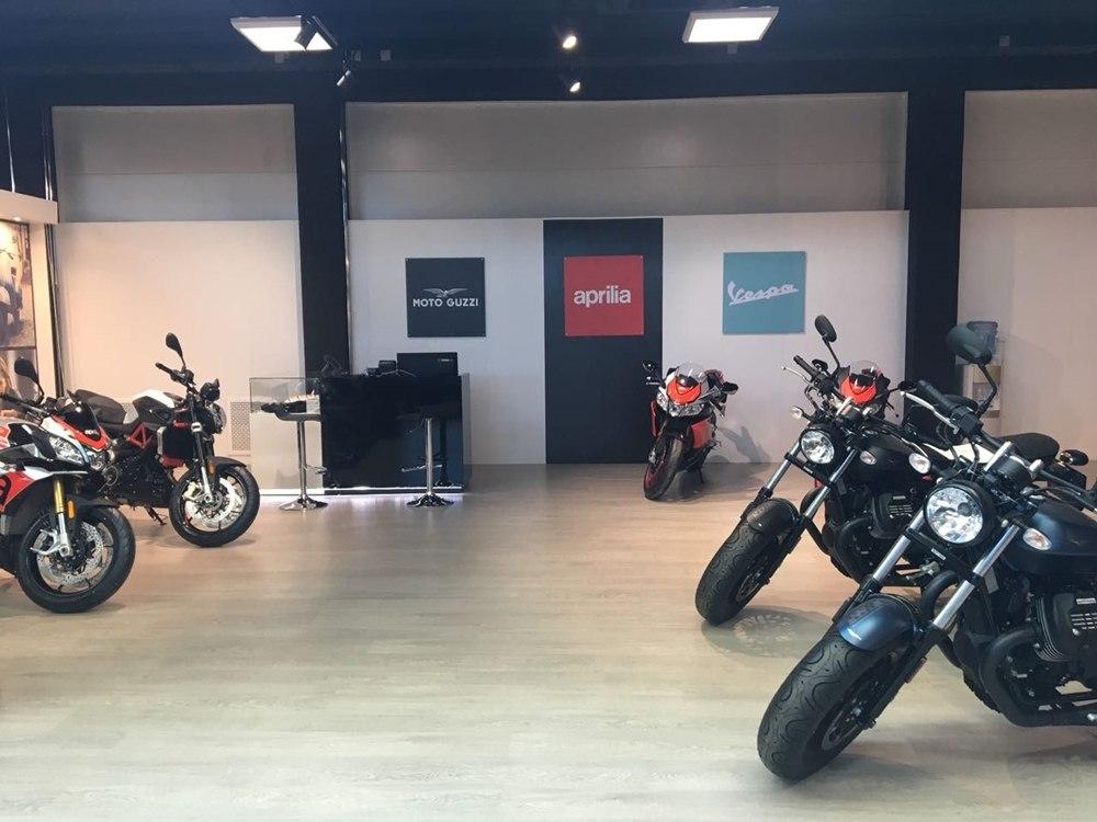 Открылся обновленный дилерский центр Piaggio Group в Москве