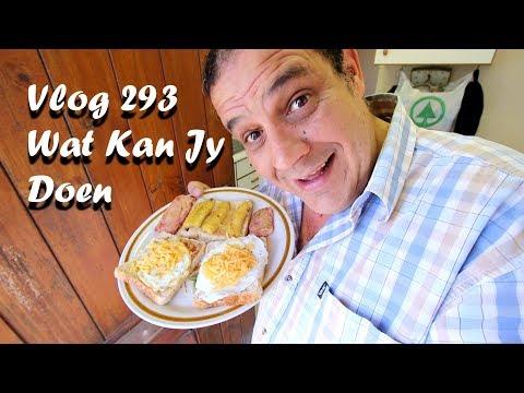 Vlog 293 Wat Kan Jy Doen Kyk Die Vlog The Daily Vlogger in Afrikaans 2018