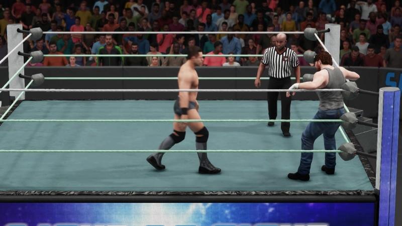 |WW| The Miz vs Dean Ambrose