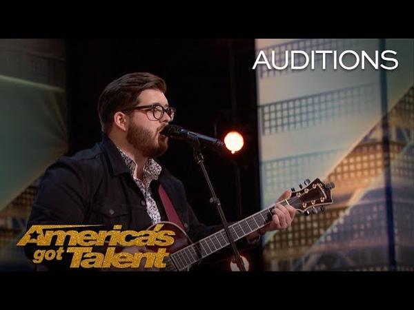 Noah Guthrie: Glee Singer Crushes Rihanna Song - America's Got Talent 2018