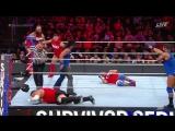 WWE Survivor Series 2017 Mens 5-on-5 Traditional Survivor Series Elimination Match Team Raw vs Team SmacDown Live