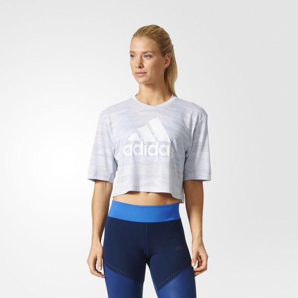 Укороченная футболка Aeroknit Boxy